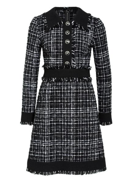 D&G Bouclé-Kleid, Farbe: SCHWARZ/ WEISS (Bild 1)
