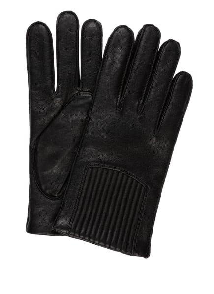 BOSS Lederhandschuhe HOLVIK, Farbe: SCHWARZ (Bild 1)
