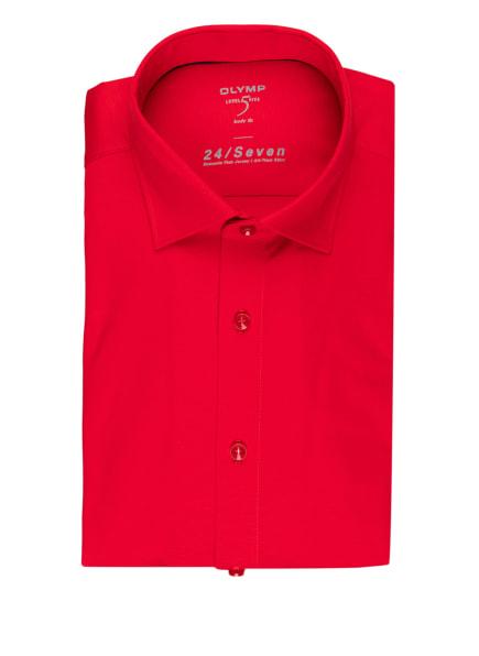 OLYMP Jerseyhemd Level Five 24/7 body fit, Farbe: ROT (Bild 1)