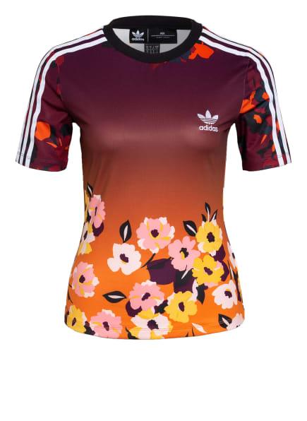 adidas Originals T-Shirt, Farbe: DUNKELROT/ DUNKELORANGE/ GELB (Bild 1)