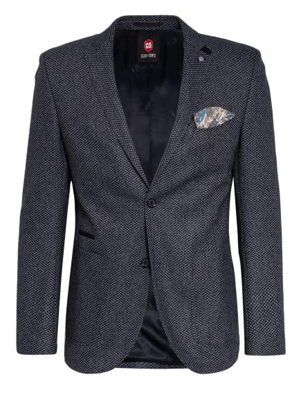 CG CLUB of GENTS Sakko ADKYN Tailored Fit, Farbe: DUNKELBLAU/ HELLGRAU (Bild 1)