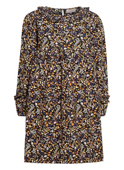 NOA NOA miniature Kleid, Farbe: DUNKELBLAU/ MINT/ HELLORANGE (Bild 1)