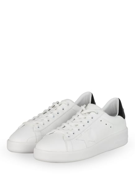 GOLDEN GOOSE Plateau-Sneaker PURE STAR , Farbe: WEISS (Bild 1)