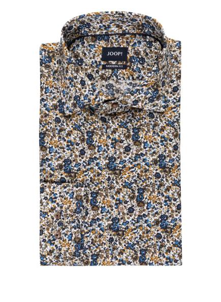 JOOP! Hemd MIKA Modern Fit, Farbe: WEISS/ OLIV/ BLAU (Bild 1)