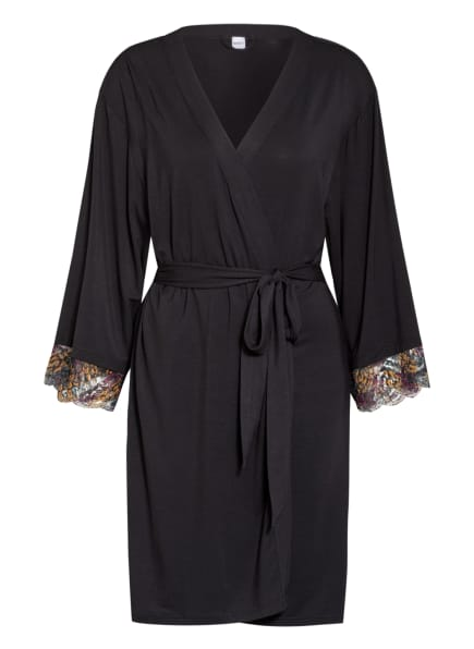 Skiny Kimono NIGHT OUT , Farbe: SCHWARZ (Bild 1)
