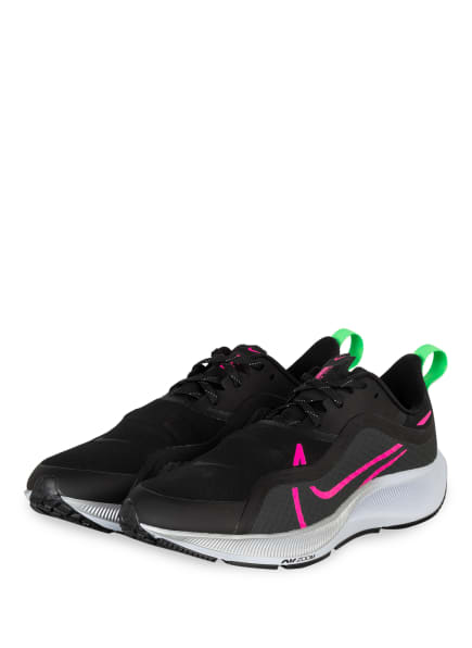Nike Laufschuhe AIR ZOOM PEGASUS 37 SHIELD, Farbe: SCHWARZ/ NEONPINK (Bild 1)