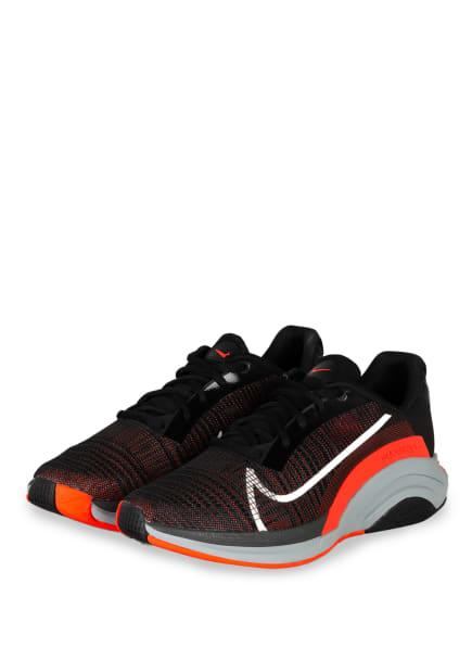 Nike Trainingsschuhe ZOOM X SUPER REP SURGE, Farbe: SCHWARZ/ ORANGE (Bild 1)