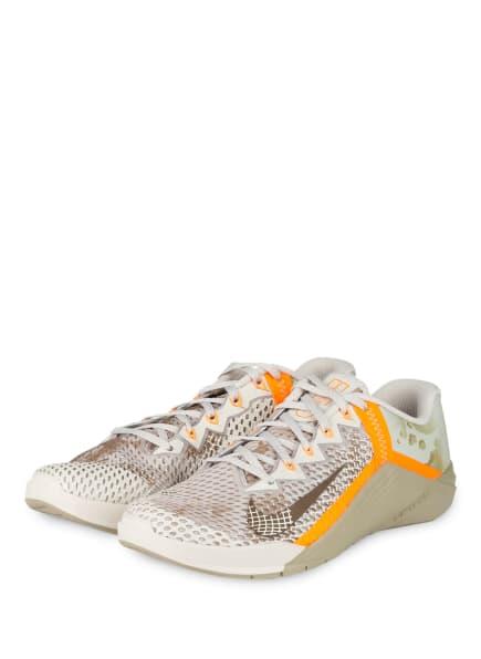 Nike Trainingsschuhe METCON 6, Farbe: GRAU/ HELLBRAUN/ ORANGE (Bild 1)
