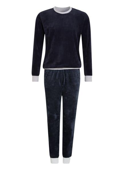 SCHIESSER Schlafanzug SLEEP + LOUNGE, Farbe: DUNKELBLAU (Bild 1)