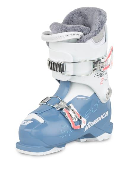 NORDICA Skischuhe SPEEDMACHINE J2, Farbe: WEISS/ HELLBLAU (Bild 1)