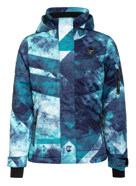 Rehall Skijacke KARINA, Farbe: MINT/ DUNKELBLAU/ WEISS (Bild 1)
