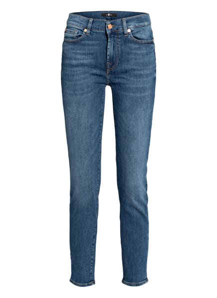 7 for all mankind Jeans ROXANNE ANKLE , Farbe: INTRO MID BLUE (Bild 1)