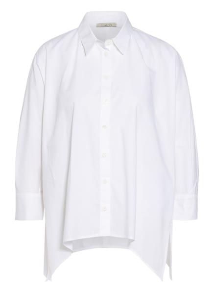 lilienfels Hemdbluse mit 3/4-Arm, Farbe: WEISS (Bild 1)