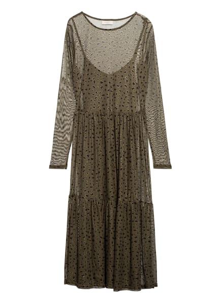 FREEQUENT Kleid, Farbe: KHAKI/ SCHWARZ (Bild 1)