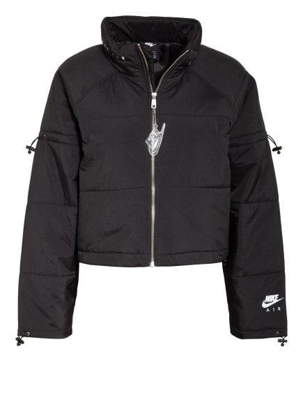 Nike Steppjacke AIR, Farbe: SCHWARZ (Bild 1)