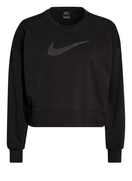 Nike Sweatshirt DRI-FIT GET FIT, Farbe: SCHWARZ/ DUNKELGRAU (Bild 1)