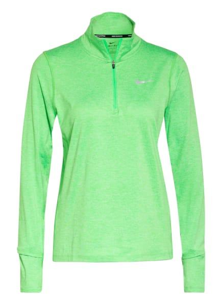 Nike Laufshirt, Farbe: HELLGRÜN (Bild 1)