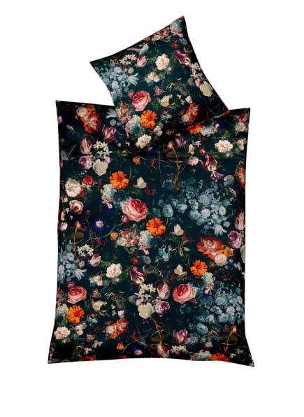 fleuresse Bettwäsche ASPEN zum Wenden, Farbe: SCHWARZ/ ORANGE/ BLAU (Bild 1)