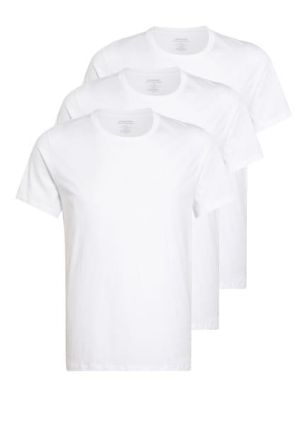 Calvin Klein 3er-Pack T-Shirts COTTON CLASSICS , Farbe: WEISS (Bild 1)