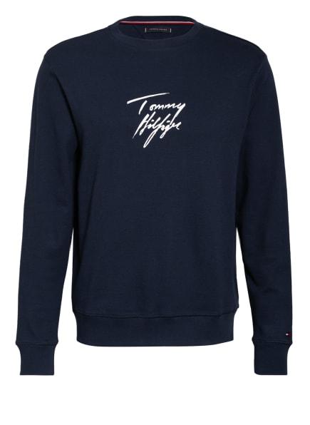 TOMMY HILFIGER Lounge-Shirt, Farbe: DUNKELBLAU (Bild 1)