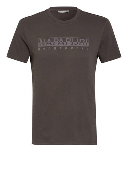 NAPAPIJRI T-Shirt SERIAL, Farbe: DUNKELGRAU (Bild 1)