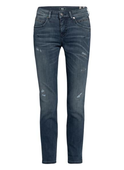 MAC Flared Jeans RICH mit Nietenbesatz , Farbe: D694 greyish used wash (Bild 1)