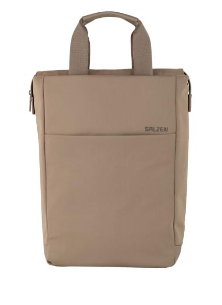 SALZEN Rucksack mit Laptop-Fach 12 l, Farbe: TAUPE (Bild 1)