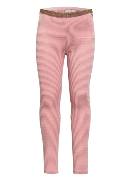 GARCIA Leggings mit Glitzergarn, Farbe: ROSÉ (Bild 1)