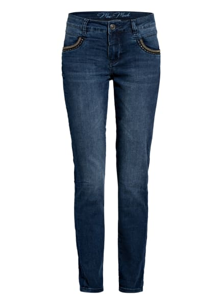 MOS MOSH Skinny Jeans NAOMI SOHO, Farbe: 401 BLUE (Bild 1)