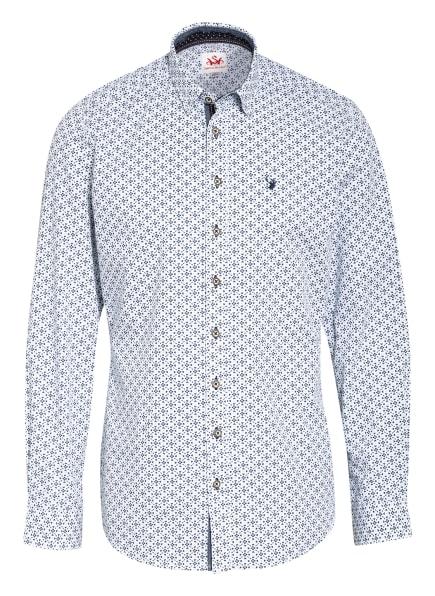 Spieth & Wensky Trachtenhemd Slim Fit, Farbe: WEISS/ BLAU (Bild 1)