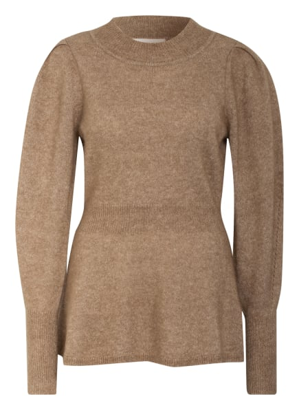 SECOND FEMALE Pullover BROOKY mit Mohair, Farbe: CAMEL (Bild 1)