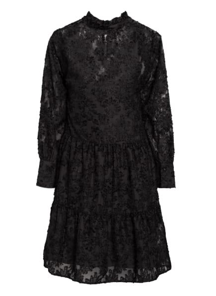 SECOND FEMALE Jaquard-Kleid AUDREY, Farbe: SCHWARZ (Bild 1)