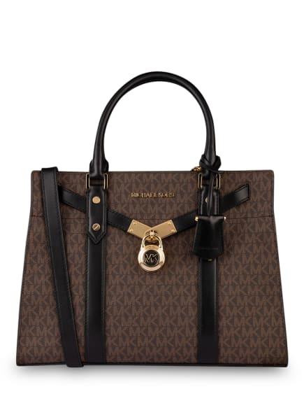 MICHAEL KORS Handtasche NOUVEAU HAMILTON L, Farbe: 292 BRN/BLACK (Bild 1)