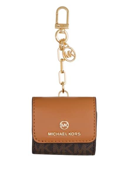 MICHAEL KORS Taschenanhänger, Farbe: 252 BRN/ACORN (Bild 1)