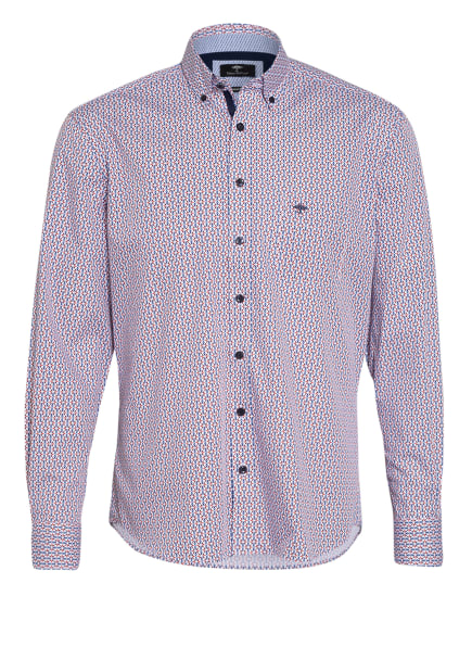 FYNCH-HATTON Hemd Casual Fit, Farbe: WEISS/ BLAU/ ROT (Bild 1)