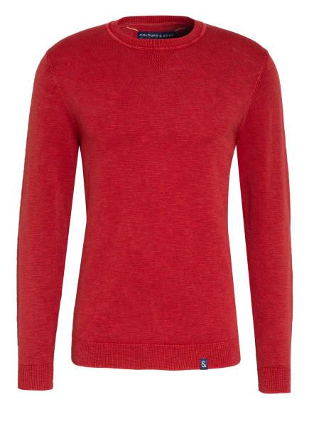 COLOURS & SONS Pullover SLATER, Farbe: DUNKELORANGE (Bild 1)