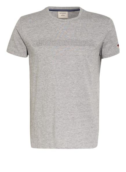 Superdry T-Shirt, Farbe: GRAU/ HELLGRAU/ WEISS (Bild 1)