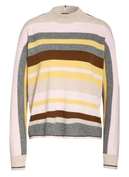 BOGNER Pullover ISALIE mit Cashmere, Farbe: ROSA/ GRAU/ BRAUN (Bild 1)