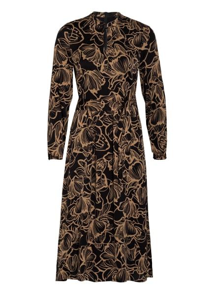 MORE & MORE Kleid, Farbe: SCHWARZ/ CAMEL (Bild 1)