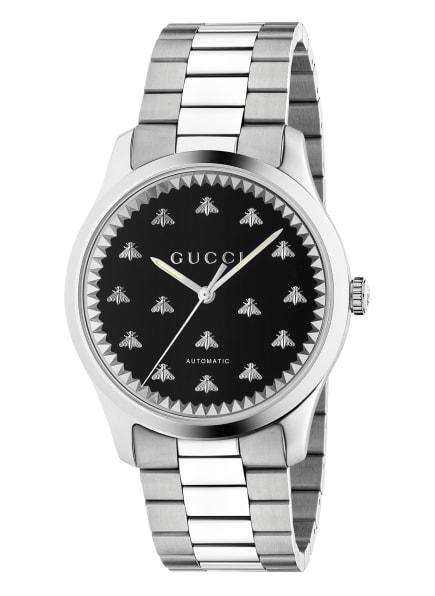 GUCCI Armbanduhr G-TIMELESS , Farbe: SILBER/ SCHWARZ (Bild 1)