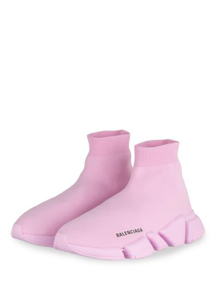 BALENCIAGA Hightop-Sneaker SPEED 2.0 , Farbe: ROSA (Bild 1)