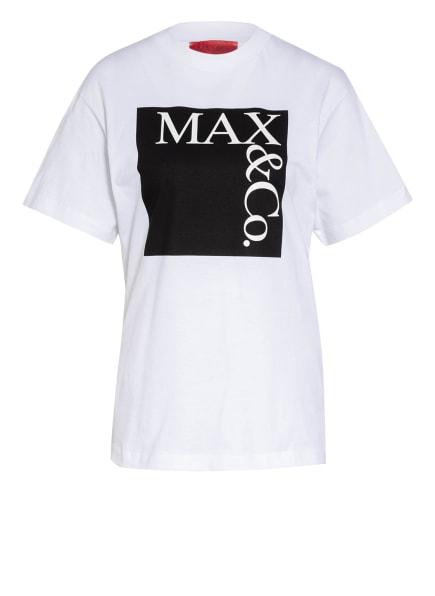 MAX & Co. T-Shirt TEE, Farbe: WEISS/ SCHWARZ (Bild 1)