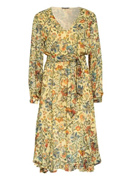 Princess GOES HOLLYWOOD Kleid mit Volantbesatz, Farbe: GELB/ GRÜN/ BLAU (Bild 1)