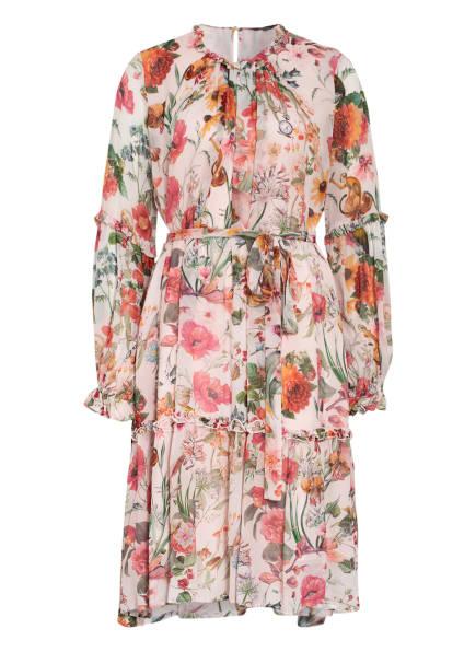 Princess GOES HOLLYWOOD Kleid mit Rüschenbesatz, Farbe: HELLROSA/ GRÜN/ ROT (Bild 1)