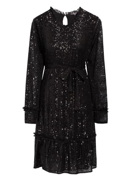 Princess GOES HOLLYWOOD Kleid mit Paillettenbesatz, Farbe: SCHWARZ (Bild 1)