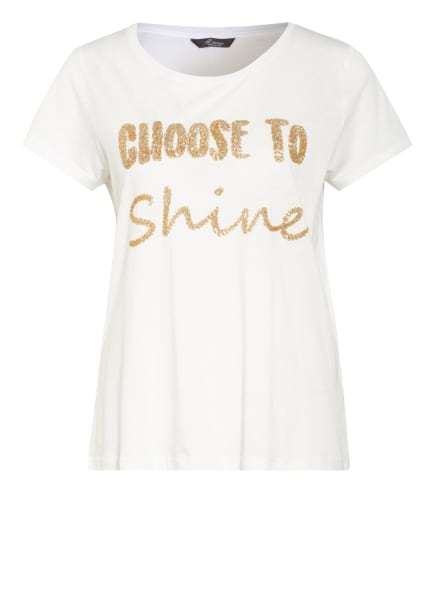 Princess GOES HOLLYWOOD T-Shirt, Farbe: WEISS/ GOLD (Bild 1)