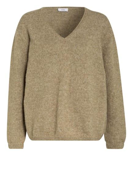 CLOSED Pullover mit Alpaka, Farbe: OLIV (Bild 1)