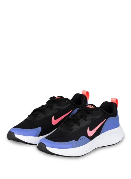 Nike Sneaker WEAR ALL DAY, Farbe: SCHWARZ/ LILA/ ROSA (Bild 1)