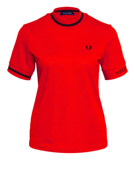 FRED PERRY T-Shirt, Farbe: NEONROT (Bild 1)