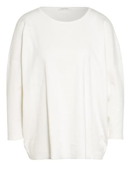 American Vintage Shirt SONICAKE mit 3/4-Arm, Farbe: WEISS (Bild 1)